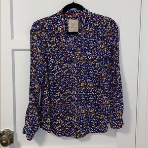 Anthropologie Blouse. Size 4.